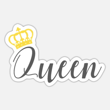 Matching Outfit Matching Couples Outfits King and Queen Gift - Sticker