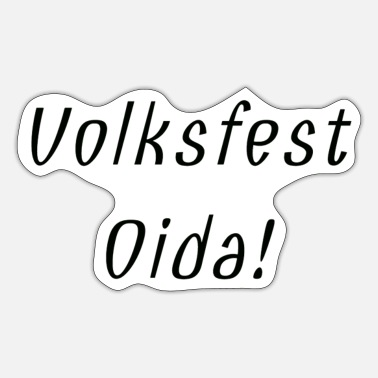 Volksfest Volksfest Shirt - Sticker