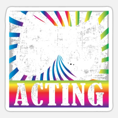 Actor Actor Screenplay Dance Scene Artist - Sticker