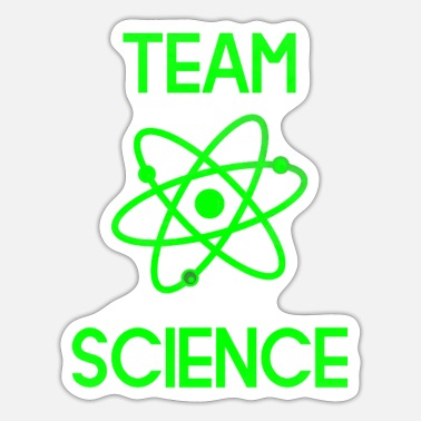 Atomic Energy Team Science Atom gift electron atomic energy - Sticker
