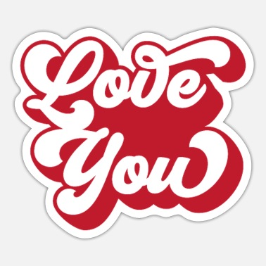 Groove Love you Groove - Sticker