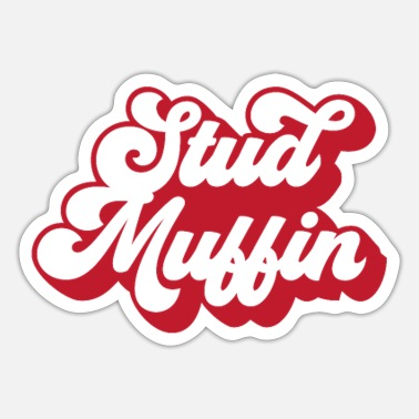 Stud Stud muffin - Sticker