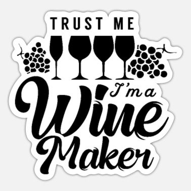 Winemaking Winemaker winemaker - Sticker