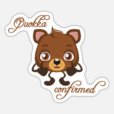 Confirmation Quokka Confirmed - Sticker