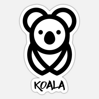 Karla Koala bear - Sticker