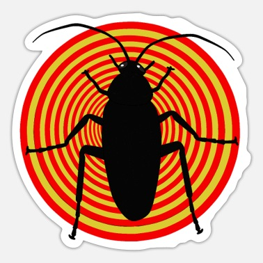 Vermin Insect insect cockroach vermin vermin - Sticker