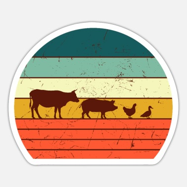 Farm Animal Farm animals - Sticker