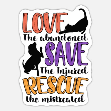 Animal Rescue Animal Rescue - Sticker