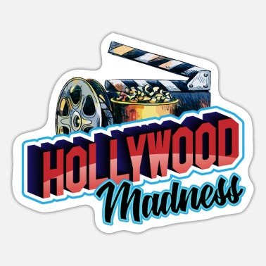 Hollywood Hollywood Madness - Hollywood Madness - Sticker