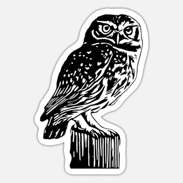 Uil uil - Sticker
