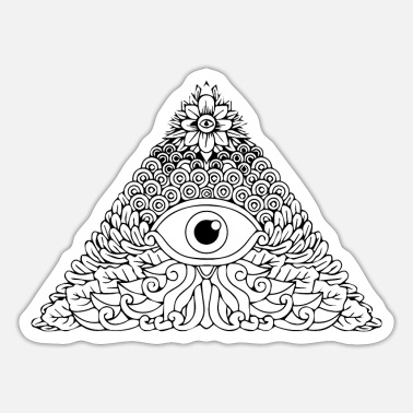 Orders Of Chivalry Illuminati secret society Masonic gift order - Sticker