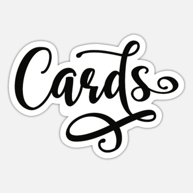 Cards Cards - Sticker