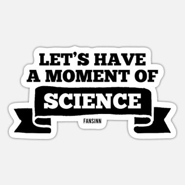 Research Science nerd research teacher laboratory - Sticker