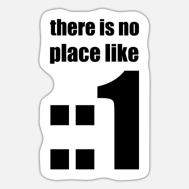 Nerdy design There is no place like :: 1 IPv6 # 3 - Sticker