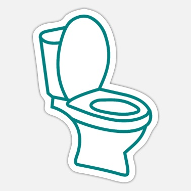 Toilet Toilet toilet - Sticker