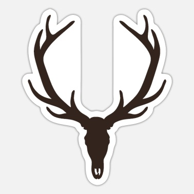 Caza Hunter - Stag - Sticker