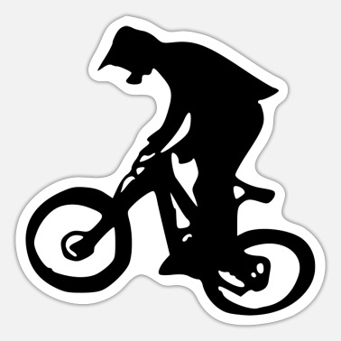 Dirt Bike Fahrrad Dirt Sport - Sticker
