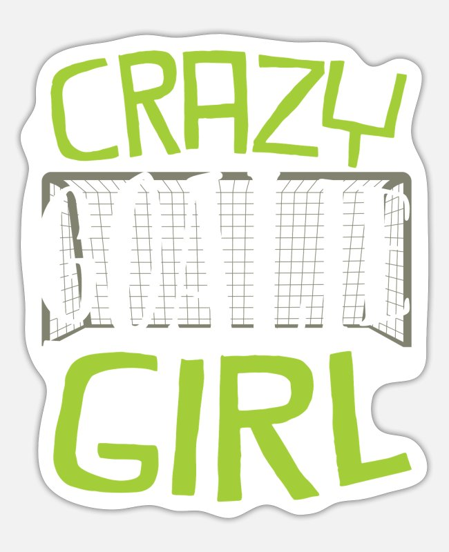 Hits Stickers - Goalkeeper soccer player - Sticker white mat