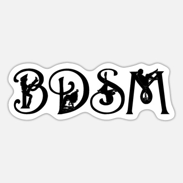 Slavinde BDSM - Sticker
