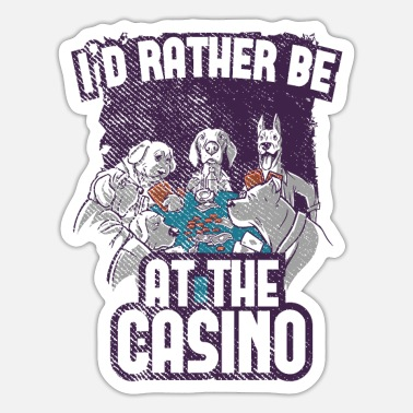 Casino Casino poker - Sticker
