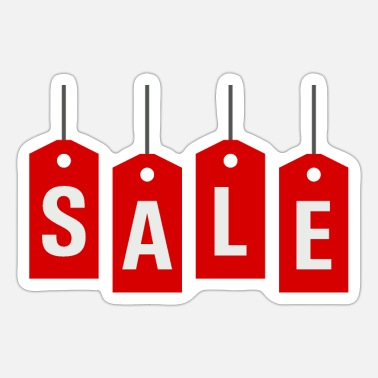 Sale Sale or sale of reduced goods - Sticker