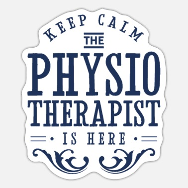 Professions Physiotherapist profession - Sticker