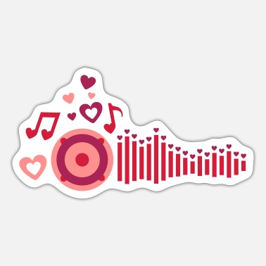 Love Playing Music play love music - Sticker