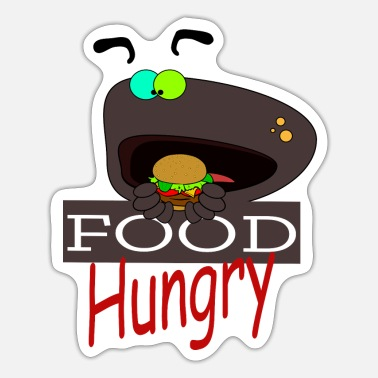 Hunger Eat hunger - Sticker