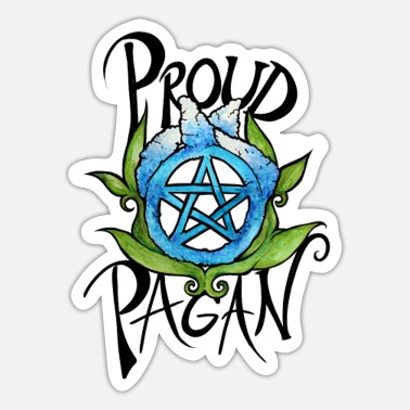 Pagan Pride Proud Pagan - Sticker