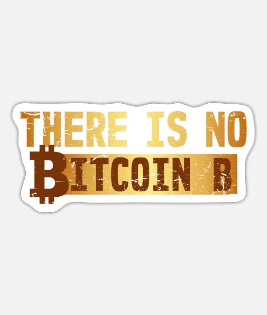 Bank Stickers - Bitcoin blockchain cool saying gift - Sticker white mat