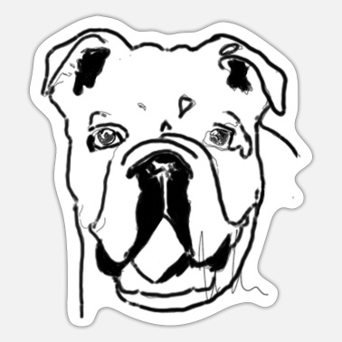 Bull Terrier Bull terrier - Sticker