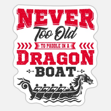 Dragon Boat Dragon boat - Sticker