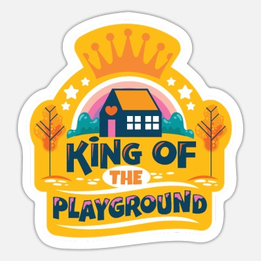 Playground playground - Sticker