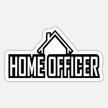 Home officer - Sticker
