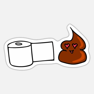 Toilet paper - Sticker
