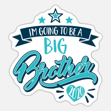Big Brother I'm going to be big brother 2020 baby pregnancy - Sticker