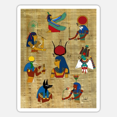 Deity Deities in ancient Egypt - Sticker