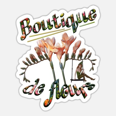 Workwear Boutique de fleur - Sticker