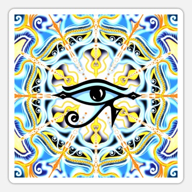 Protection Symbol Eye of Horus protection symbol Egypt protection symbol - Sticker