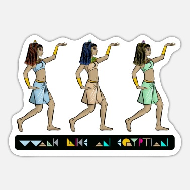 Banquet WALK LIKE AN EGYPTIAN I princesses - Sticker