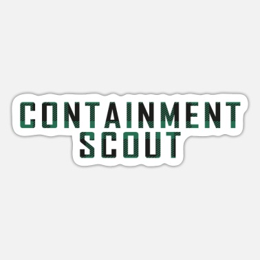Container Containment Scout - Sticker