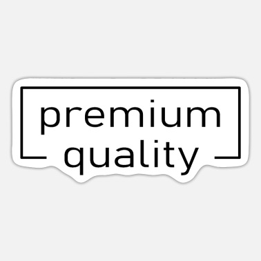 High-quality premium quality Logo high quality rarity - Sticker