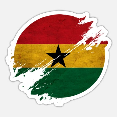 Kumasi Ghana district - Sticker