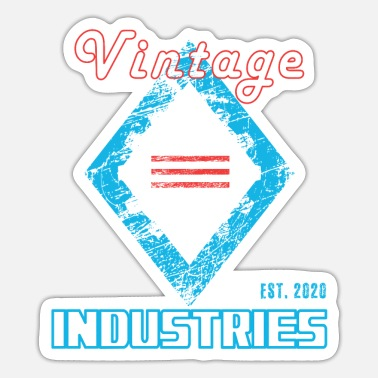 Scrach Vintage Industires - Sticker