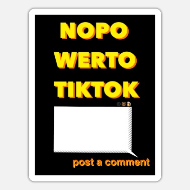 No Power To Drugs nopowerto tiktok - Sticker