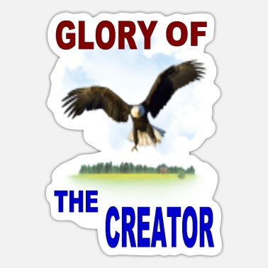 Creator GLORY OF THE CREATOR - Sticker
