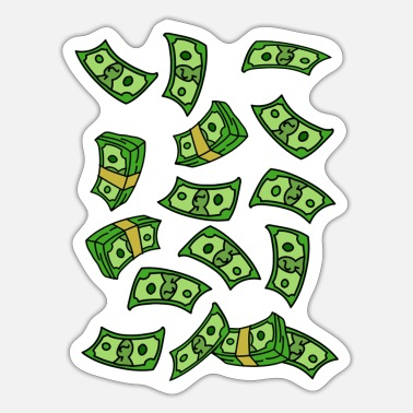 Dollar Geld - Sticker