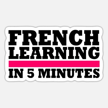 French French - Sticker