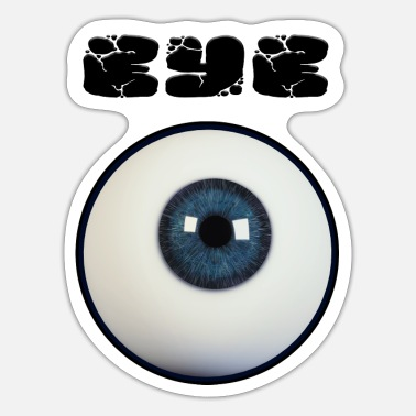 Retina Eye - Sticker