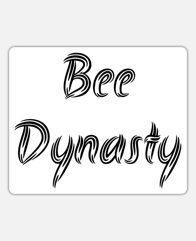 Honybee Stickers - bee dynasty - Sticker white mat